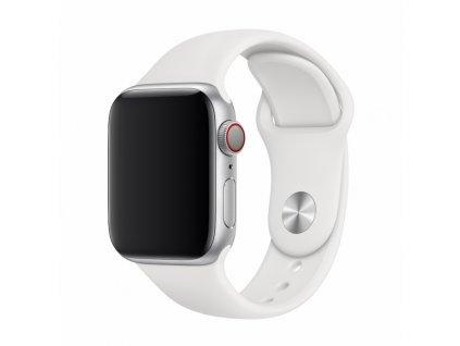 Řemínek pro Apple Watch 38mm / 40mm - Devia, Sport White