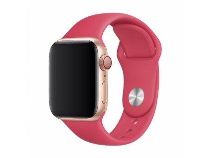 Řemínek pro Apple Watch 38mm / 40mm - Devia, Sport Red