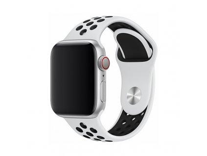 Řemínek pro Apple Watch 42mm / 44mm - Devia, Sport2 White
