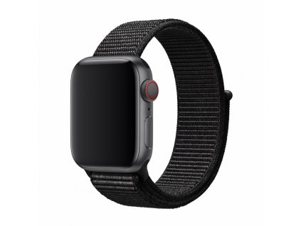 Řemínek pro Apple Watch 42mm / 44mm - Devia, Sport3 Black