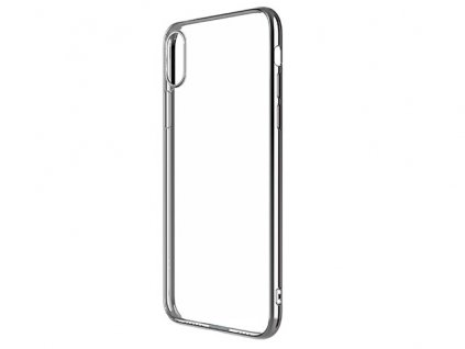 Ochranný kryt pro iPhone XS MAX - Devia, Glimmer Silver