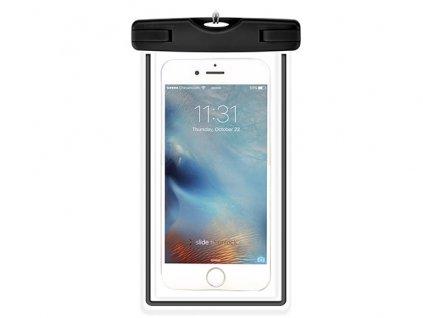 Plážové voděodolné pouzdro na mobil - Devia, Waterproof Bag Black
