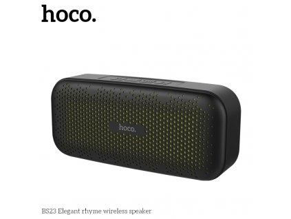 Bluetooth reproduktor - Hoco, BS23 ElegantRhyme Black