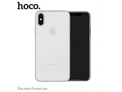 Ultratenký kryt pro iPhone XS - HOCO, Ultrathin Transparent