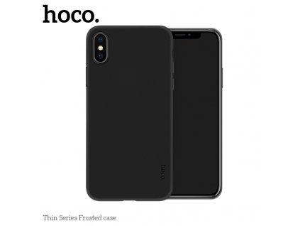 Ultratenký kryt pro iPhone XS MAX - HOCO, Ultrathin JetBlack