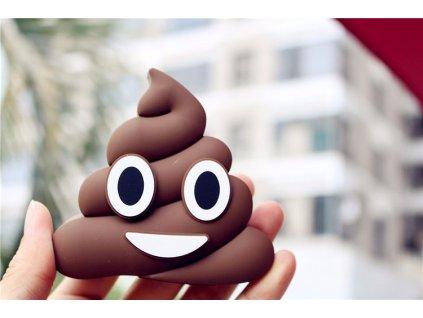 Externí baterie / POWERBANKA - Emoji, Poop (Bobek)