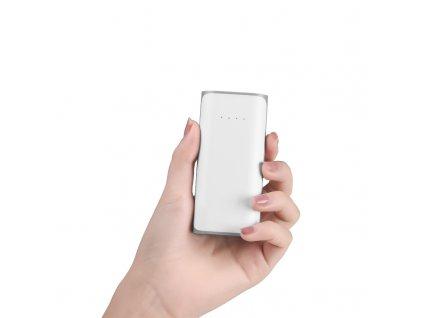 Externí baterie / powerbanka - HOCO, B21 Tiny 5200mAh White