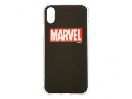 Ochranný kryt pro iPhone XS - MARVEL, Logo 002 Black