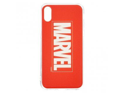 Ochranný kryt pro iPhone XS - MARVEL, Logo 001 Red