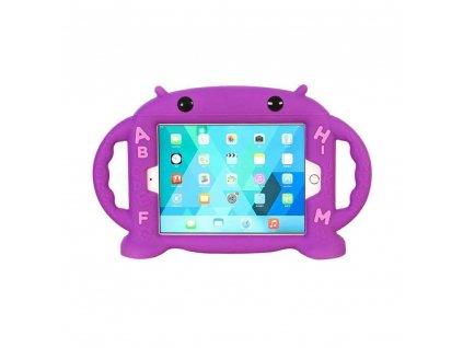 Dětské pouzdro pro iPad mini 1 / 2 / 3 / 4 - Cartoon Monkey, Purple