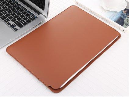 Pouzdro na MacBook Pro 13 (2016-2019) / MacBook Air 13 (2018-2020) - Sleeve Brown