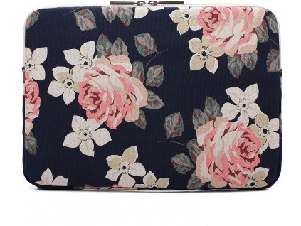 Pouzdro na notebook - CANVASLIFE, 15 Sleeve RoseNavy