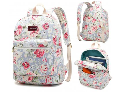 Batoh pro notebook - Canvaslove, BackPack LightBlue