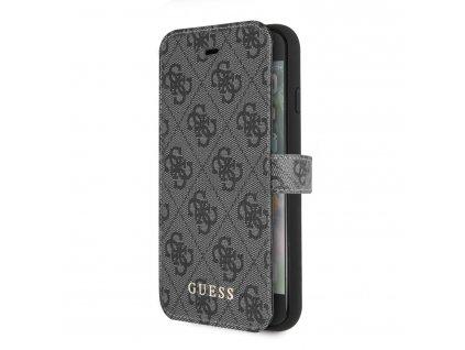 Ochranný kryt / pouzdro pro iPhone 8 / 7 / 6s / 6 / SE (2020) - Guess, Charms Book Grey