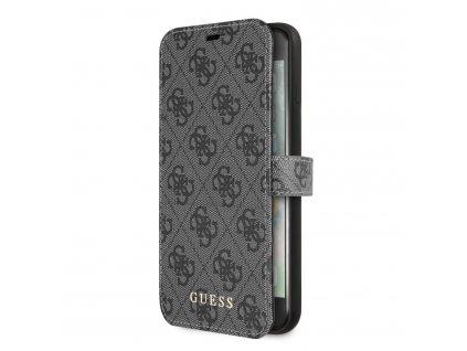 Pouzdro / kryt pro iPhone 7 Plus / 8 Plus - Guess, 4G Book Grey