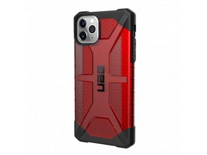 Ochranný kryt na iPhone 11 Pro MAX - UAG, Plasma Magma Red