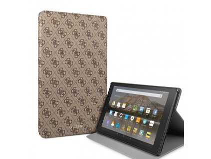 Pouzdro / kryt pro iPad Air 3 - Guess, 4G Folio Brown