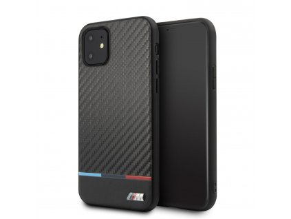 Ochranný kryt na iPhone 11 Pro MAX - BMW, M Carbon Cover Tricolore