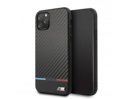 Ochranný kryt na iPhone 11 Pro - BMW, M Carbon Cover Tricolore