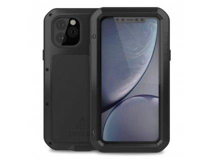 Ochranný kryt na iPhone 11 Pro - LOVE MEI, Powerful Black