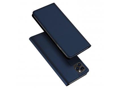 Knížkové pouzdro na iPhone 11 Pro MAX - DuxDucis, SkinPro Blue
