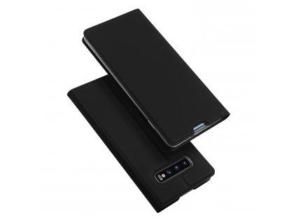 Pouzdro pro Samsung Galaxy S10 PLUS - DuxDucis, SkinPro Black
