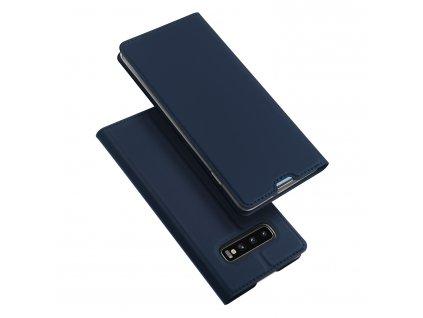 Pouzdro pro Samsung Galaxy S10 PLUS - DuxDucis, SkinPro Blue