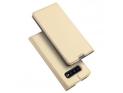 Pouzdro pro Samsung Galaxy S10 PLUS - DuxDucis, SkinPro Gold
