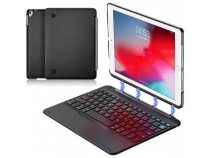 Klávesnice pro iPad 2017 / iPad 2018 / iPad Air 1- DuxDucis, Keyboard Black
