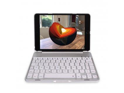 Klávesnice pro iPad mini 4 / 5 - DuxDucis, Keyboard Silver
