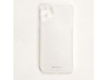 Ultratenký kryt pro iPhone 11 Pro MAX - Mercury, UltraSkin Transparent