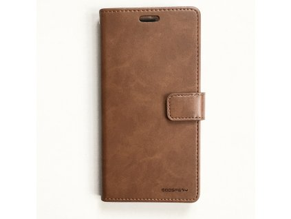 Pouzdro na iPhone 11 - Mercury, Bluemoon Diary BROWN