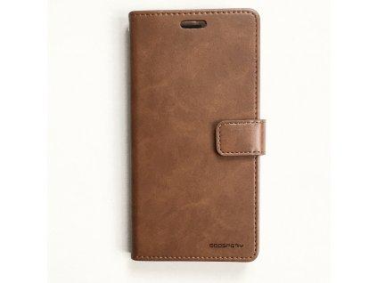 Pouzdro na iPhone 11 Pro MAX - Mercury, Bluemoon Diary BROWN
