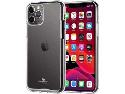 Ochranný kryt pro iPhone 11 Pro - Mercury, Jelly Transparent