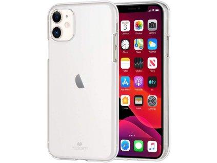 Ochranný kryt pro iPhone 11 - Mercury, Jelly Transparent