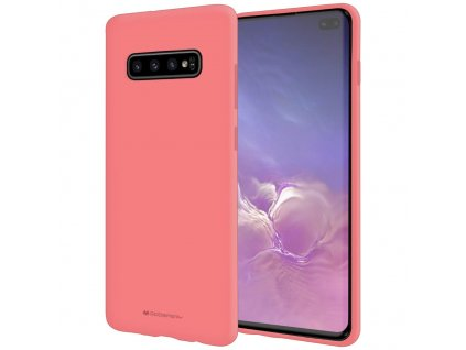 Pouzdro / kryt pro Samsung GALAXY S10 PLUS - Mercury, Soft Feeling Pink