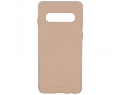 Pouzdro / kryt pro Samsung GALAXY S10 PLUS - Mercury, Soft Feeling Pink Sand