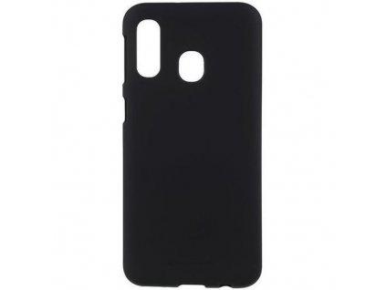 Pouzdro / kryt pro Samsung GALAXY A40 A405F - Mercury, Soft Feeling Black
