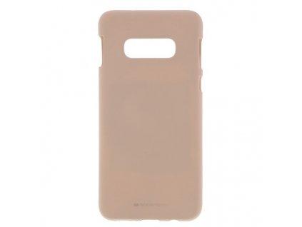 Pouzdro / kryt pro Samsung GALAXY S10E - Mercury, Soft Feeling Pink Sand