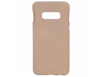 Pouzdro / kryt pro Samsung GALAXY S10 - Mercury, Soft Feeling Pink Sand