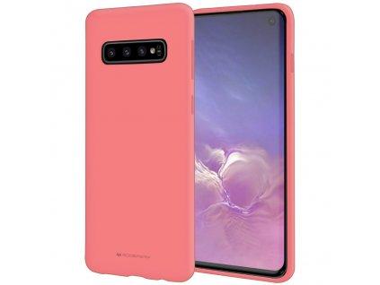 Pouzdro / kryt pro Samsung GALAXY S10 - Mercury, Soft Feeling Pink