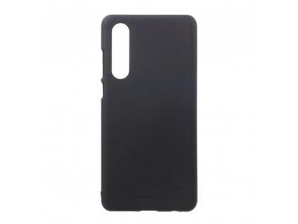 Pouzdro / kryt pro Huawei P30 - Mercury, Soft Feeling Black