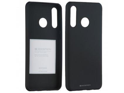 Pouzdro pro Huawei P30 LITE - Mercury, Soft Feeling Black