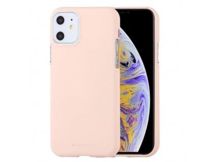 Ochranný kryt pro iPhone 11 - Mercury, Soft Feeling Pink Sand