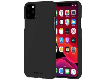 Ochranný kryt pro iPhone 11 Pro MAX - Mercury, Soft Feeling Black