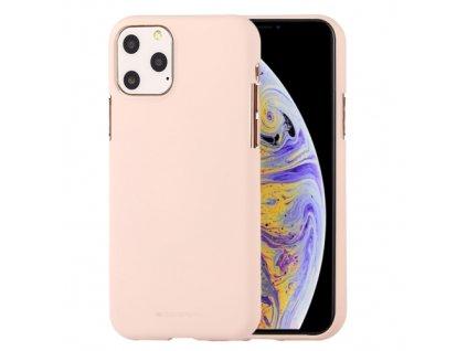 Ochranný kryt pro iPhone 11 Pro MAX - Mercury, Soft Feeling Pink Sand