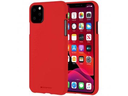 Ochranný kryt pro iPhone 11 Pro MAX - Mercury, Soft Feeling Red