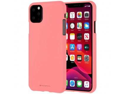 Ochranný kryt pro iPhone 11 Pro MAX - Mercury, Soft Feeling Pink
