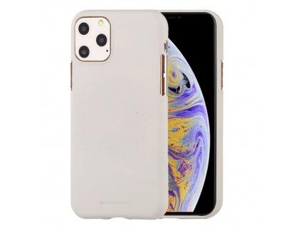 Ochranný kryt pro iPhone 11 Pro - Mercury, Soft Feeling Stone