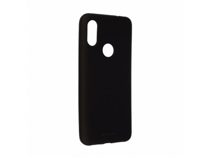 Pouzdro pro Xiaomi Redmi 7 - Mercury, Soft Feeling Black